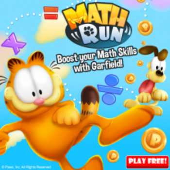 Garfield Math Run